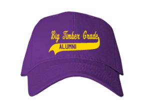 Big Timber Grade School Embroidered Baseball Caps