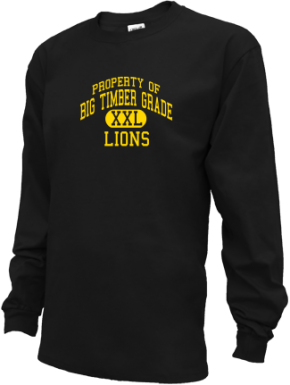 Big Timber Grade School Kid Long Sleeve Shirts