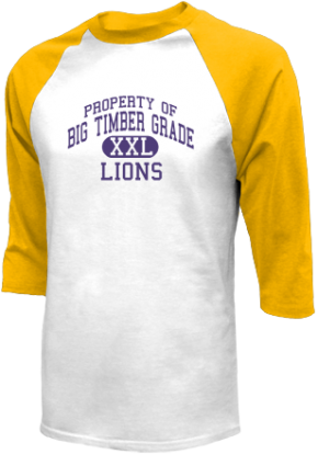 Big Timber Grade School Raglan Shirts