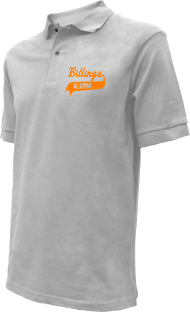 Billings High School Embroidered Polo Shirts