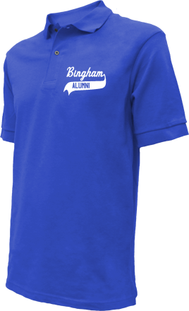 Bingham Elementary School Embroidered Polo Shirts