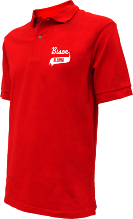 Bison Elementary School Embroidered Polo Shirts