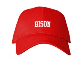 Bison High School Kid Embroidered Baseball Caps