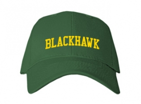 Blackhawk Middle School Kid Embroidered Baseball Caps
