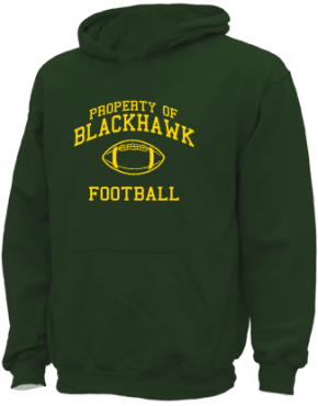 Blackhawk Middle School Kid Hooded Sweatshirts