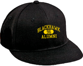 Blackhawk Middle School Flat Visor Caps