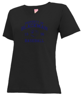 Blackman High School V-neck Shirts