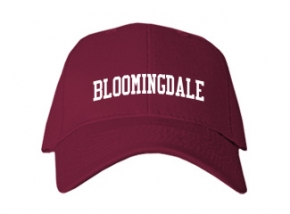 Bloomingdale High School Kid Embroidered Baseball Caps