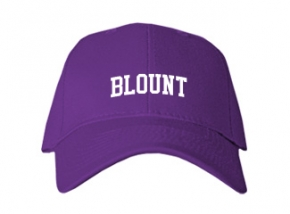 Blount High School Kid Embroidered Baseball Caps