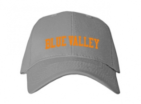 Blue Valley High School Kid Embroidered Baseball Caps