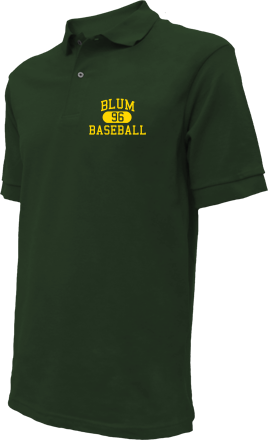 Blum High School Embroidered Polo Shirts