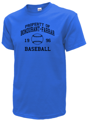 Bondurant-farrar High School T-Shirts