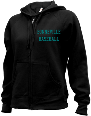 Bonneville High School Zip-up Hoodies