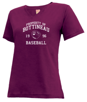 Bottineau High School V-neck Shirts