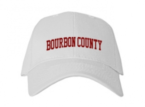 Bourbon County High School Kid Embroidered Baseball Caps