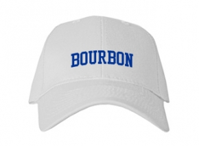 Bourbon High School Kid Embroidered Baseball Caps