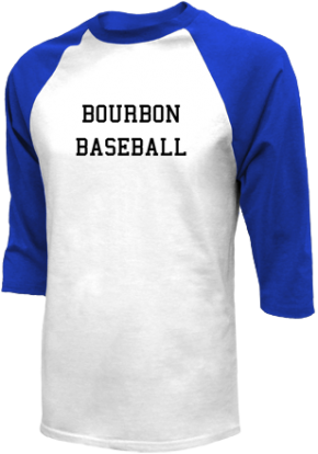 Bourbon High School Raglan Shirts