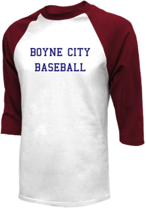 Boyne City High School Raglan Shirts