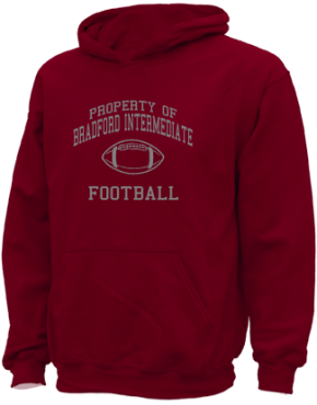 Bradford Intermediate School Kid Hooded Sweatshirts