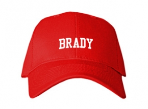 Brady High School Kid Embroidered Baseball Caps
