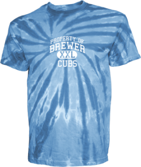 Brewer Middle School Kid Tie-dye T-Shirts