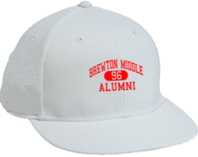 Brewton Middle School Flat Visor Caps