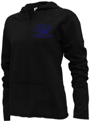 Brickett Elementary School Girls Zipper Hoodies