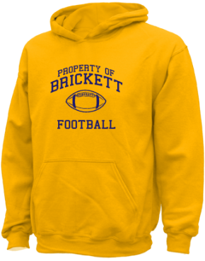 Brickett Elementary School Kid Hooded Sweatshirts