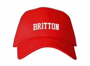 Britton High School Kid Embroidered Baseball Caps