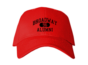 Broadway Elementary School Embroidered Baseball Caps