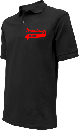 Broadway Elementary School Embroidered Polo Shirts