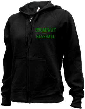 Broadway High School Zip-up Hoodies