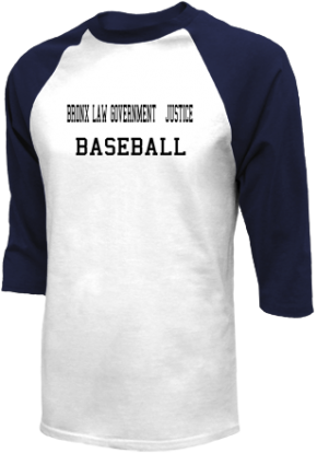 Bronx Law Government & Justice High School Raglan Shirts