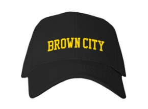 Brown City High School Kid Embroidered Baseball Caps