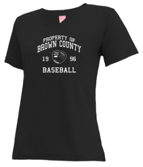 Brown County High School V-neck Shirts