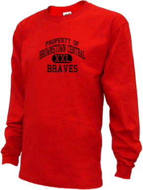 Brownstown Central High School Kid Long Sleeve Shirts