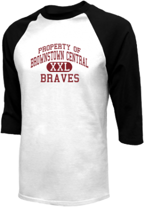 Brownstown Central High School Raglan Shirts
