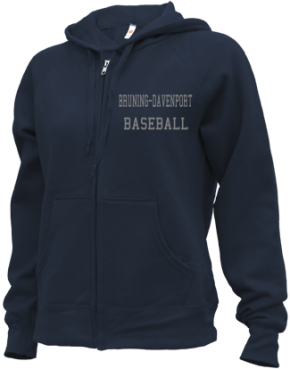 Bruning-davenport High School Zip-up Hoodies