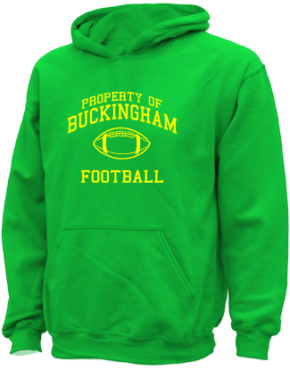 Buckingham Elementary School Kid Hooded Sweatshirts