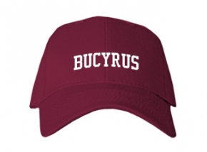 Bucyrus High School Kid Embroidered Baseball Caps