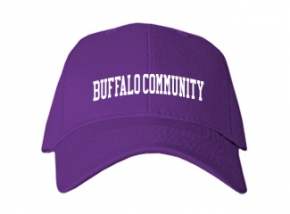 Buffalo Community Middle School Kid Embroidered Baseball Caps