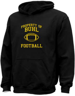Buhl Middle School Kid Hooded Sweatshirts