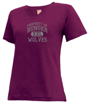 Bunger Middle School V-neck Shirts