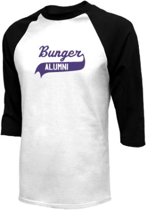 Bunger Middle School Raglan Shirts