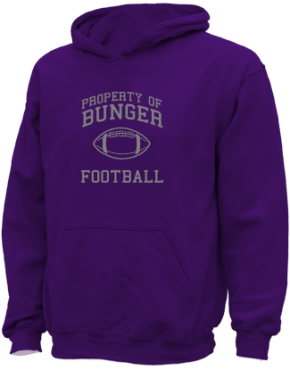Bunger Middle School Kid Hooded Sweatshirts