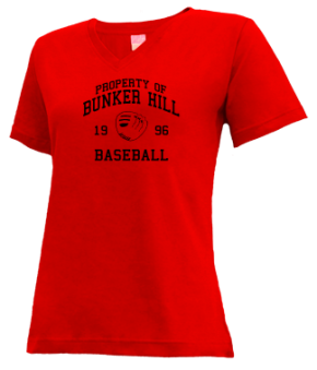 Bunker Hill High School V-neck Shirts