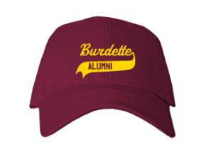 Burdette Elementary School Embroidered Baseball Caps