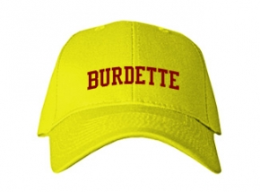 Burdette Elementary School Kid Embroidered Baseball Caps