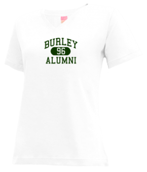 Burley High School V-neck Shirts