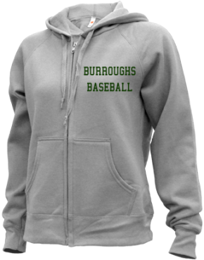 Burroughs High School Zip-up Hoodies